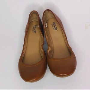 Women's mossimo brown flats